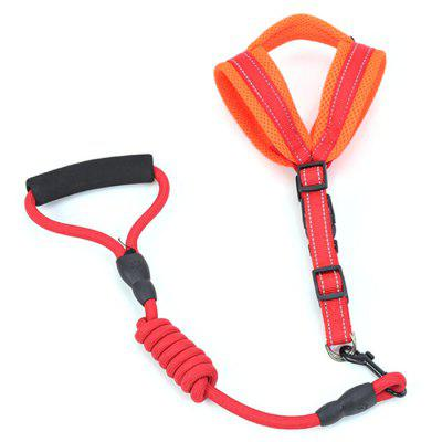 Leashes Dog Harness Mesh Dog Chain