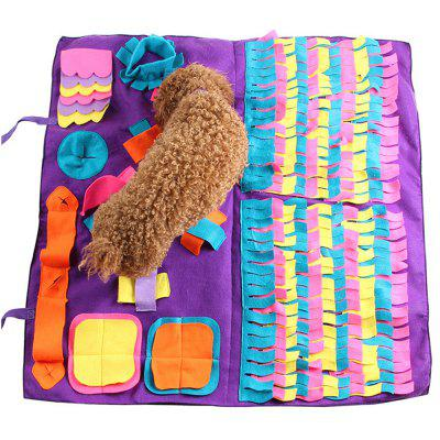 Šití § Sniffing Dog Pad Pet Training Blanket