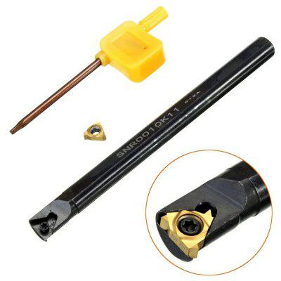 SNR0010K11 Internal Lathe Threading Turning Tool Boring Holder T8 Wrench with 11IR AG60 Blade for CNC Machine