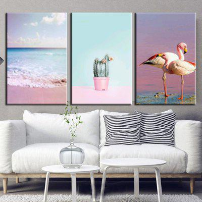 VM High-precision Pictures Printed Decor Canvas Print without Frame 3pcs