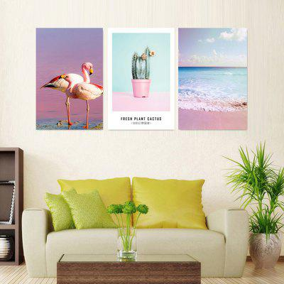 VM08 High-precision Pictures Printed Decor Canvas Print 3pcs without Frame 3pcs