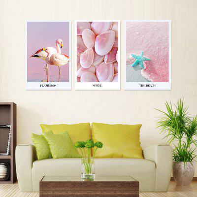 VM07 High-precision Pictures Printed Decor Canvas Print without Frame 3pcs