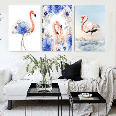 VM05 High-precision Pictures Printed Decor Canvas Print without Frame 3pcs