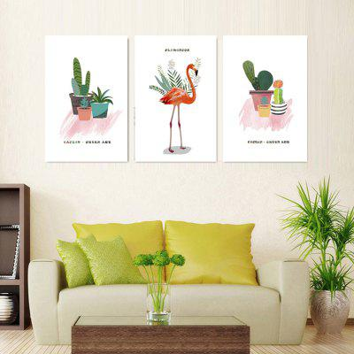 VM04 High-precision Pictures Printed Decor Canvas Print without Frame 3pcs