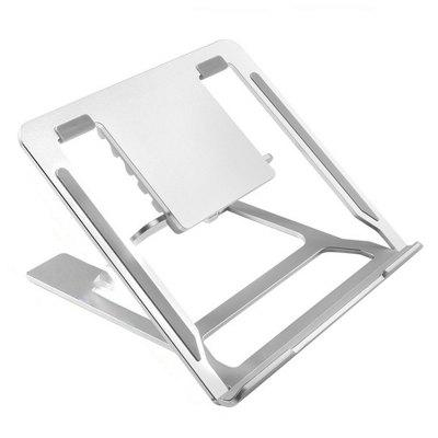 Adjustable Laptop Stand 6 Levels Foldable Computer Support Cooling Base for Max 17 inch Notebook