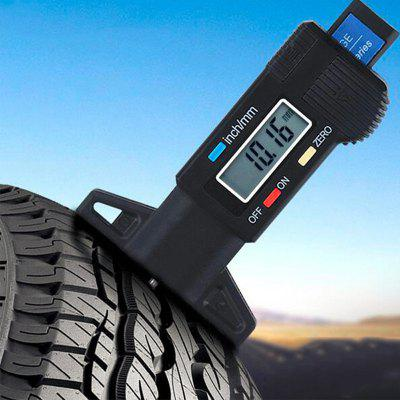 0-25,4mm Digital Mierka Caliper Tire Tread hĺbkomery LCD displej Measure Tool pre automobilový Car