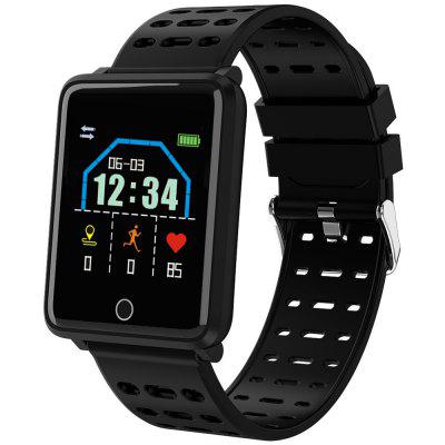 F21 1,44 inch touchscreen Smart horloge Hartslag Blood Pressure Monitoring Oefening Sleep Message Alerts