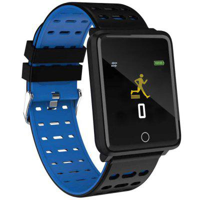 F21 1.44 inch Touch Screen Smart Watch Heart Rate Blood Pressure Monitoring Exercise Sleep Message Alerts