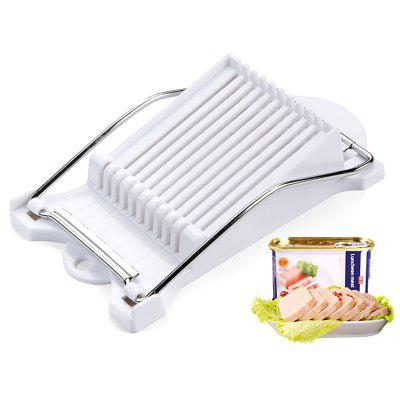 Luncheon Meat Slicer Boiled Egg Fruit Slice Tool Soft Food Cheese Sushi Cutter Canned Cutting Machine