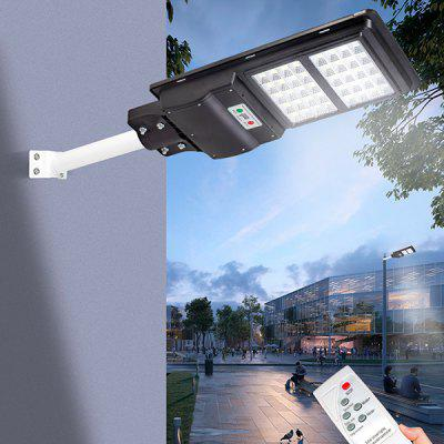 JS-077 Outdoor Waterproof Road Solar Light Supporter Solar Yard Lights Radar Sensor Street Garden Solar Powered Lamp with Digital Display