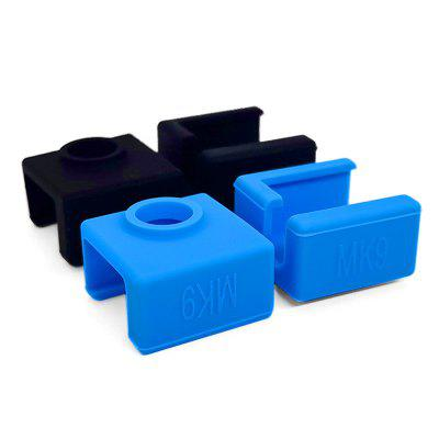 MK9 Heater Block Silicone Sock Protective Sleeve Heating Block Case Cover for 3D Printer Heated Block