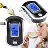 Black Liquid Crystal Display Alcohol Tester - BLACK