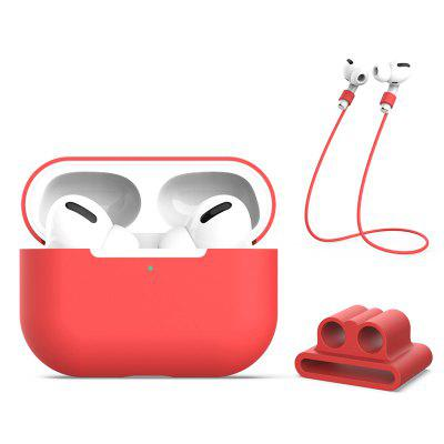 3 in 1 Earphone Protective Case Holder Clip Anti-lost Rope Hanging Strings Lanyard for Airpods Pro