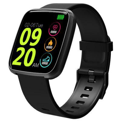 Y7 1.3-inch Color Touch Screen Health Smart Watch Supports Heart Rate Blood Pressure Sleep Detection Call Reminder Message Vibrate Step Counting