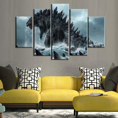 DC1-100 (63) High-precision Photo Canvas Print Decorative Painting without Frame