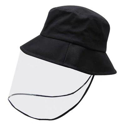 Face Protection Hat PVC Mask Protective Cap