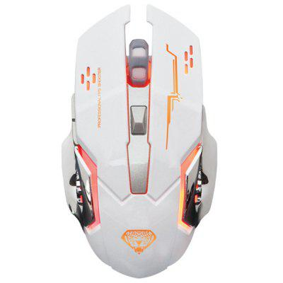 Q3 Wireless Mouse Silent Light Game Energy Saving Charging for Desktop Computer Office