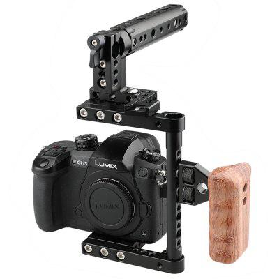 CAMVATE C1175 Camera Cage with Top Side Handle Left-sided