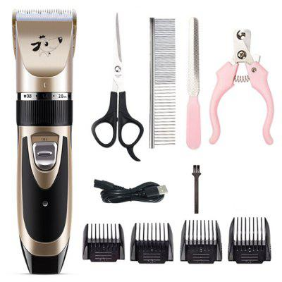 USB Electric Shaver Pet Hair Clipper for Large Dog (without Oil)