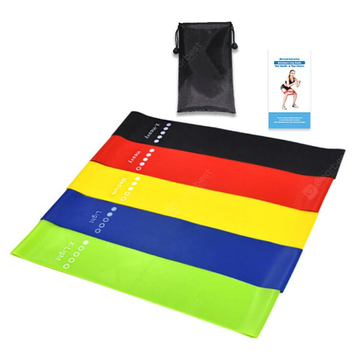 Sport Yoga Resistance Bands Natural Late