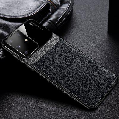 Litchi Grain PU Leather Phone Case Cover Protective Sleeve for Samsung Galaxy S20 / S20 Ultra / S20 Plus