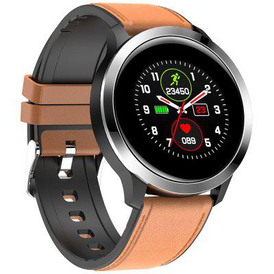 E70 Smart Sport Cinturino in PPG ECG Monitore di Frequenza Cardiaca Smart Watch con Full Touch Screen Pedometro Funzione