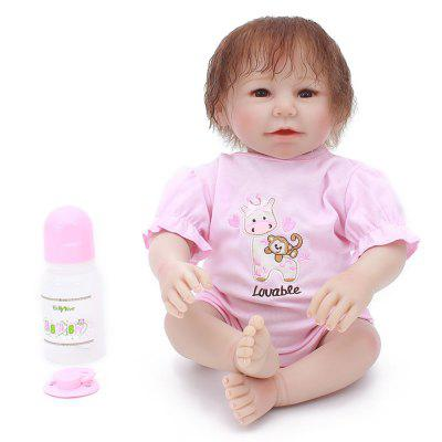 Andere Puppe 20 Zoll Vinyl Simulation Reborn Baby Puppe