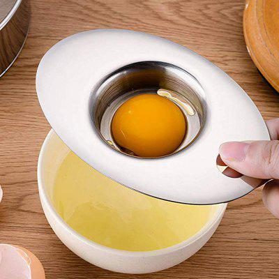 Food Grade 304 Stainless Steel Egg Separator Tool for Kitchen Gadget Cooking Cake