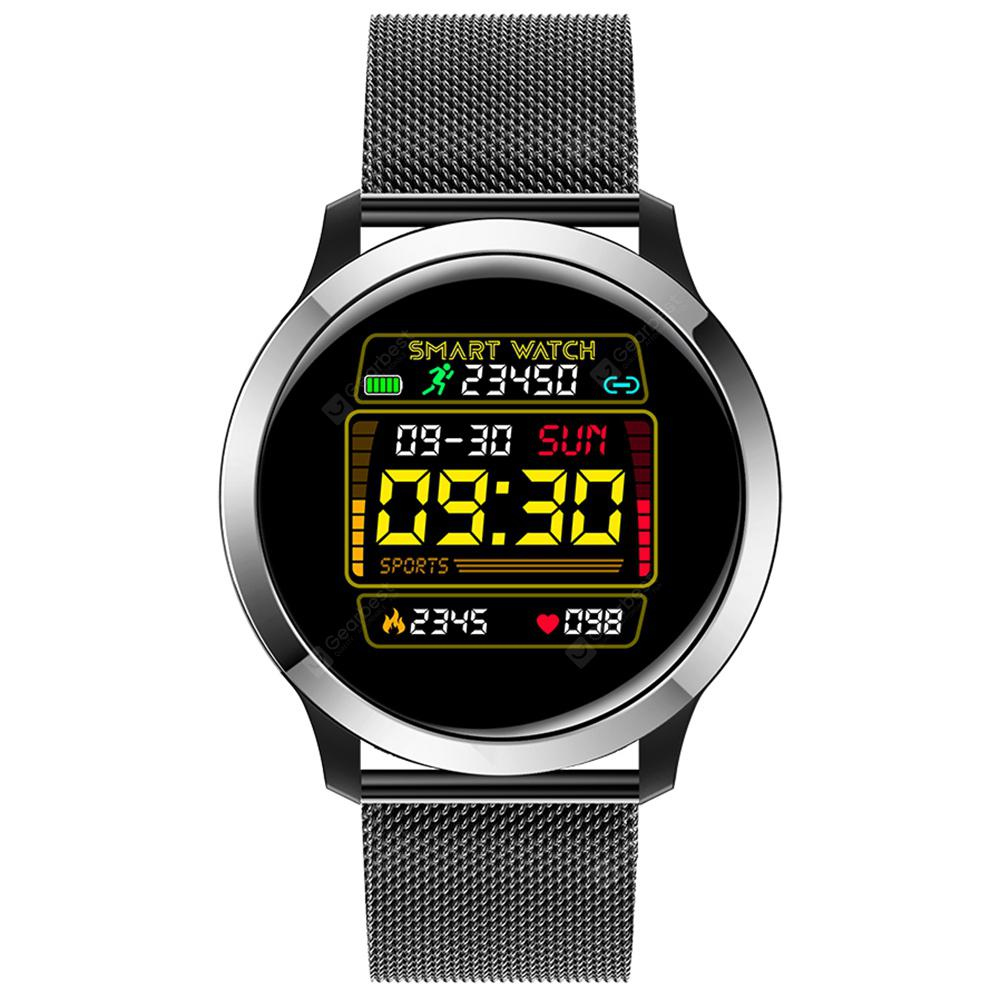 E70 Smart Sports Wristband PPG ECG Heart Rate Monitor Smart Watch with Full Touch-screen Pedometer Function