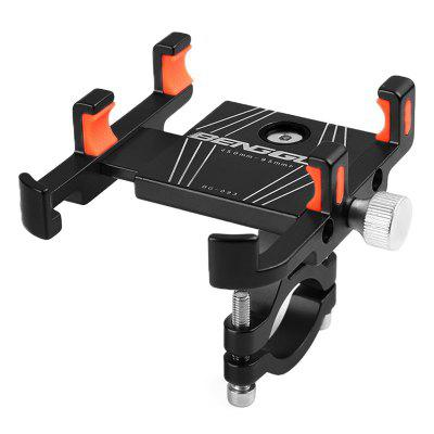 NUCKILY RI002 MTB Bike Phone Holder Mountain Bicycle Car Navigation Bracket Aluminum Alloy Shockproof Stand