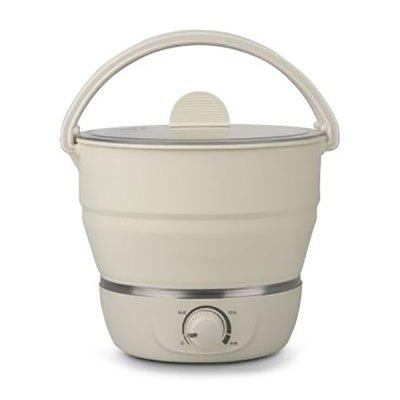 1L Folding Water Kettle 110V-220V Portable Handheld Rice Cooker Electric Automatic Power Off Kettles Home Appliances for Travel