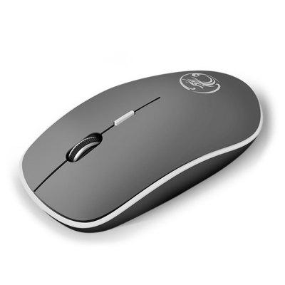 Portable Wireless Mute Computer Mouse 2.4GHz 1600 DPI Ergonomic Noise-free USB Wireless Mouses with Mini Receiver