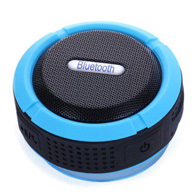 C6 Waterdichte Bluetooth Speaker Outdoor draagbare Card Speaker Car Subwoofer met haak