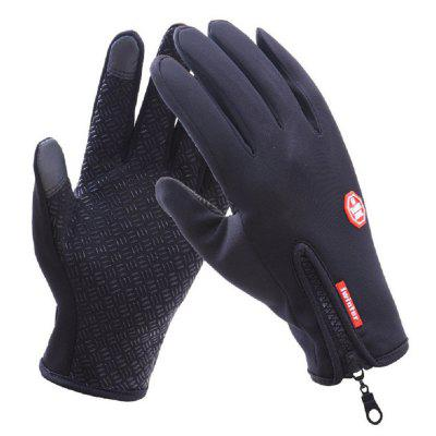 Winter Warm Gloves Windproof Waterproof Touchscreen Gloves Non-slip for Cycling Riding Diving