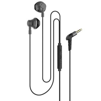R12 Mobile Tablet PC Universal Stereo In-Ear Headphone with Mic Wire Control Smart Sports Earphone