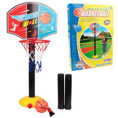P9666 Children Assembled Elevated Portable Basketball Rack Toy for Indoor and Outdoor