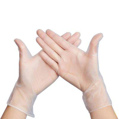 Transparent Disposable Protective Gloves Environmentally Friendly PVC Gloves Food Grade Cleaning Tools 100pcs