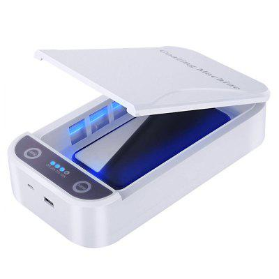 UV Sterilizer Box Phone Charger Sterilization Ultraviolet Disinfection Machine Cleaner with Aroma Hole for Jewelry Watch Cleaning