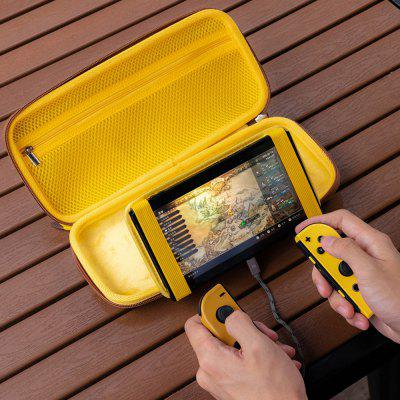 Game Console Storage Bag with Holder Stand Games Controller Protective Case Anti Shock Portable Carry Cover for Nintendo Switch