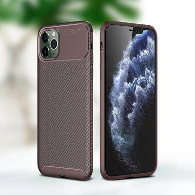 Carbon Fiber Mobile Phone Case Cover Protective Sleeve for iPhone 11 Pro / Max / XS Max / XR / 6 / 6S / 7 / 8 Plus / X