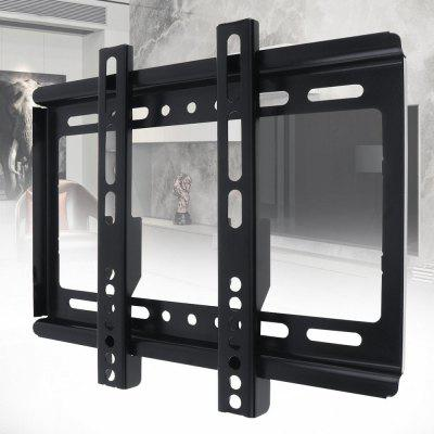 B27S Thin 25kg 14 - 42 inch TV Wall Mount Stand Universal Flat Panel Bracket TV Frame Holder with Gradienter for LCD LED Monitor