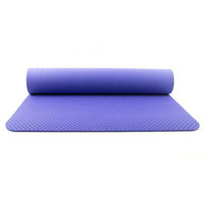 6mm Thick Non-slip Yoga Mat TPE Carpet Mat Sports Pads for Beginner Fitness Gymnastics