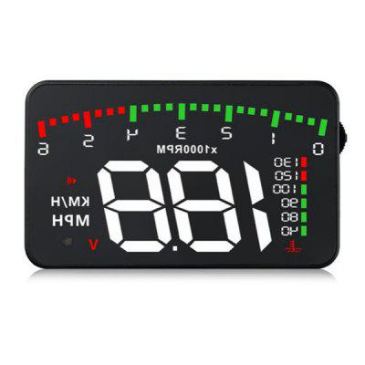 Car HUD OBD RPM Meter Head-Up Display Overspeed Warning System Car Accessories Water Temperature Alarm