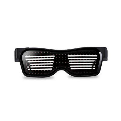 Magic Bluetooth LED Bril APP Controle Light Spectacles EMD DJ Electric Syllable Feestartikelen