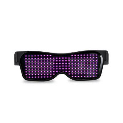 Consumabile Magic Bluetooth cu LED-uri Ochelari APP de Control Light Spectacles EMD DJ Electric silabelor Party