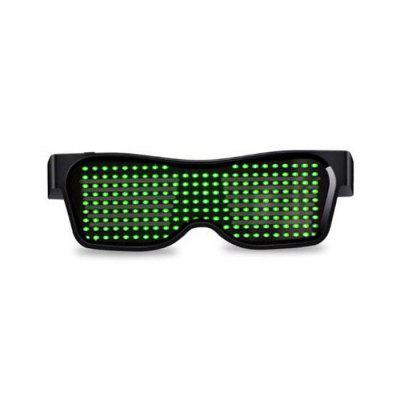 Magic Bluetooth LED Glasses APP Control Light Spectacles EMD DJ Electric Syllable Party Supplies