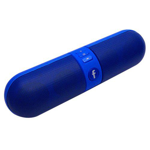 Blue Pill Capsule Shape Wireless Bluetooth Speaker New Portable Stereo Music Card Subwoofer Compact Portable Speaker Home Players