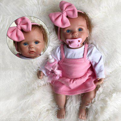 OtardDolls 15 inch Cotton Vinyl Simulation Cute Reborn Baby Doll Toy