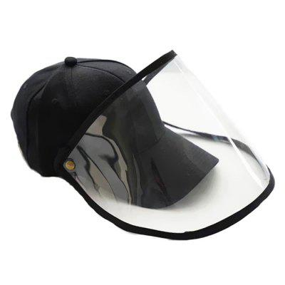 Men Women Black Dust Eye-protection Sun Hat Covering Face Protection Hat