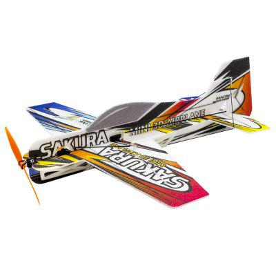 E210 RC Air Plane 3D letadlo Micro Mini Pěnové EPP PP F3P Light Kit Model Hobby Toy Remote Control Hračky